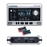 Boss Micro BR BR-80 8-Track Digital Recorder with 4 Free Universal Electronics AA Batteries