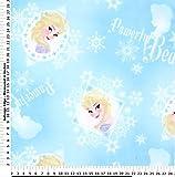 Disney Frozen Queen Elsa Fleece Fabric BY THE YARD