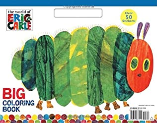 book cover of The World of Eric Carle Big Coloring Book