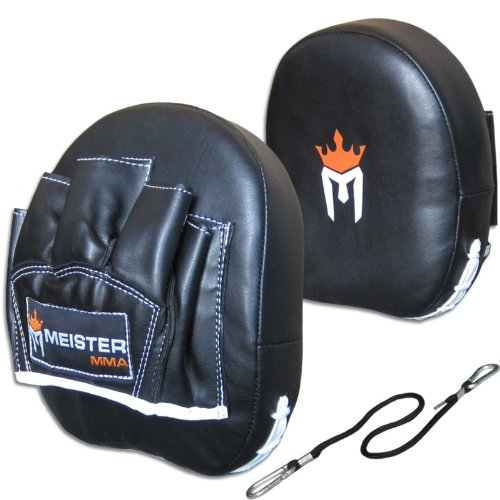 Contour Padded Target Punch Mitts (Pair) for MMA & Boxing
