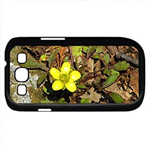New spring growth (Flowers Series) Watercolor style - Case Cover For Samsung Galaxy S3 i9300 (Black)