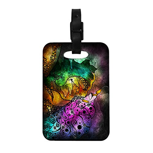 Kess InHouse Mandie Manzano Sleeping Beauty Fairy Tale Decorative Luggage Tag, 4 by 4-Inch