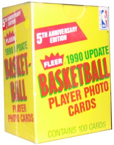 1990/91 Fleer Update Basketball Factory Set - 100C