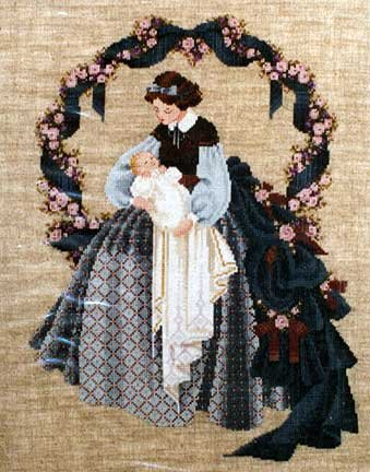 32ct Natural Linen (SWEET DREAMS COUNTED CROSS STITCH PATTERN)