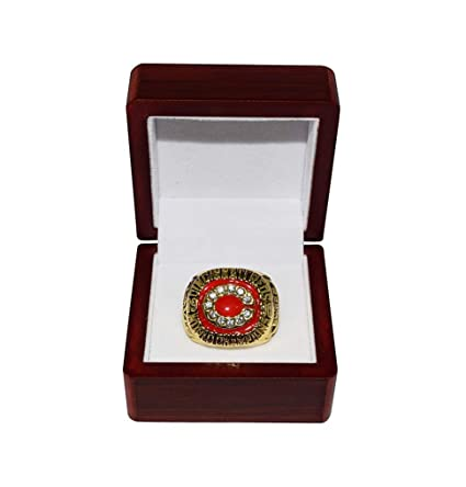 Johnny Bench 1976 WORLD SERIES CHAMPIONS CINCINNATI REDS Vintage Rare /& Collectible Replica Major League Baseball Gold Championship Ring with Cherrywood Display Box Big Red