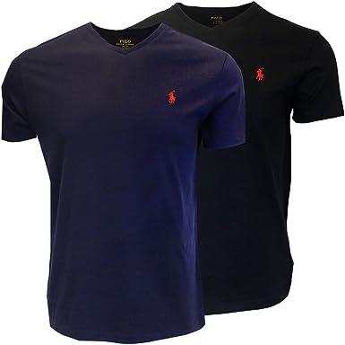Polo Ralph Lauren Camiseta con Cuello en v para Hombre Modelo 2019 ...