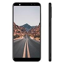 LEAGOO M9 - Quattro Fotocamera Smartphone Libero 3G (5.5''HD, Android 7.0, 2GB RAM + 16GB ROM, MT6580A Quad Core 1.3GHz, Frontale 5+2MP, Posteriori 8+2MP, Batteria 2850 mAh)