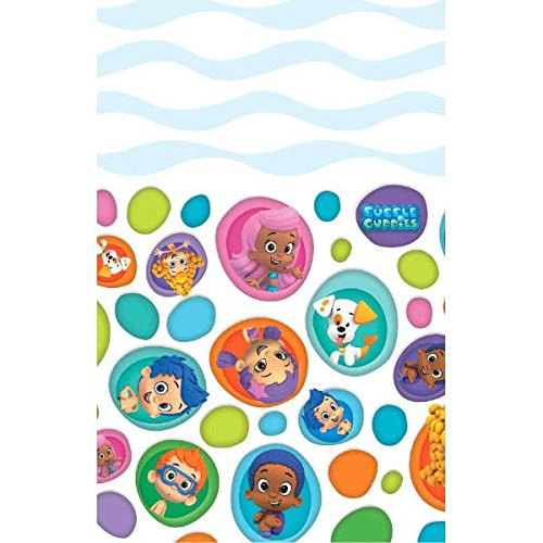 Bubble Guppies Plastic Table Cover 54in x 96in -