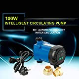 Pumps 100W 25mm 2.5m3/h Quiet Solar Water Heater Electrical Hot Water Circulation Pump Booster Pump