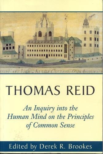 An Inquiry into the Human Mind on the Principles of Common Sense: A Critical Edition PDF