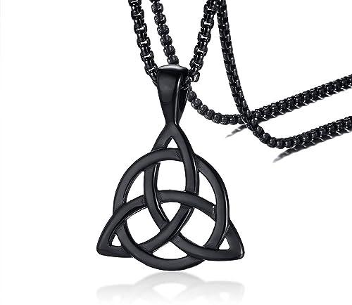 Amazon.com: PJ Jewelry - Collar con colgante de acero ...