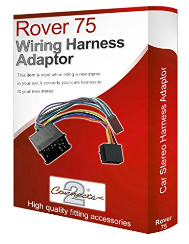 Rover 75 radio stereo wiring harness adapter lead loom: Amazon.co.uk: Electronics