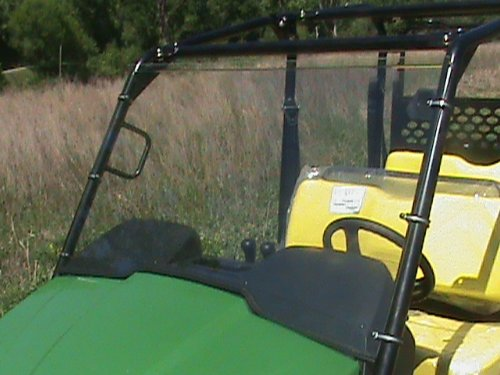 John Deere Gator XUV 550,550,560,590 S4,850i full Tinted Front Windshield...A Full 1/4