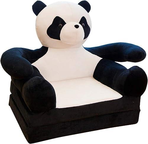 Olpchee Plush Foldable Children s Sofa Backrest Chair Cute Cartoon Animal Sweet Seats Bean Bag Armchair