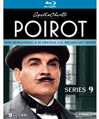 Agatha Christie S Poirot Series 9 Blu Ray David Suchet Hugh Fraser Philip Jackson Pauline Moran Movies Tv
