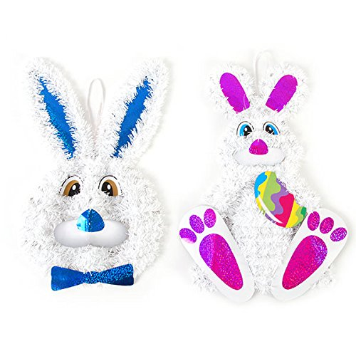 FLOMO Easter Bunny Tinsel Decoration by FLOMO