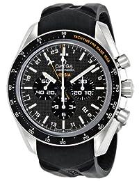 Omega Men's 321.92.44.52.01.001 Speedmaster Carbon-Fiber Dial Watch