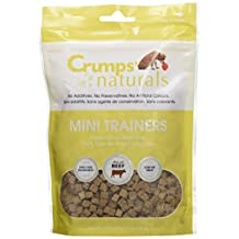 Crumps' Naturals MT-FD-50 Mini Trainers Freeze Dried Beef Liver (1 Pack), 50g/1.8 oz