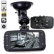 """Mengshen® HD 1080P 2.7 """"TFT LCD 140 ° Grand Angle voiture DVR véhicule 1920 × 1080 Camera Recorder G-capteur de détection de mouvement IR Night Vision (ne pas inclure la carte mémoire) MS-GS8000"""