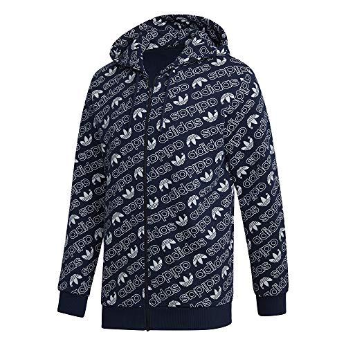 para Full Adidas hombre marino Zip maruni Monogram Chaqueta azul wIvzv