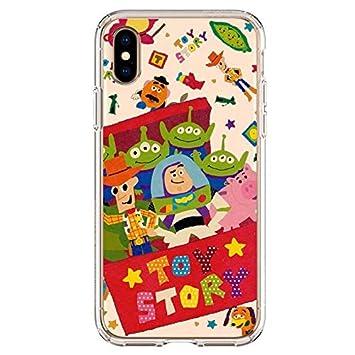 Desconocido Fundas para iPhone X/XS, Toy Story Disney Buzz Lightyear Woody Slinky, Carcasa iPhone Dibujos Niños Niñas (iPhone X/XS, 9)