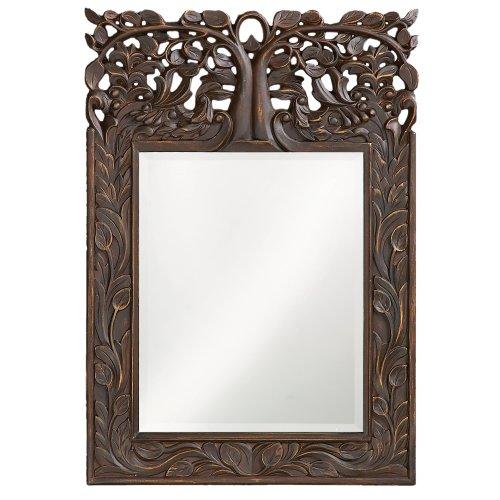 Howard Elliott 4084 Oakvale Mirror, French Brown by Howard Elliott Collection