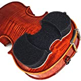 NEW! & Improved 2018 Model -AcoustaGrip 'PRODIGY CHAROAL' Violin Shoulder Rest--Fits 1/8, 1/4, and 1/2 Size Violins and Violas