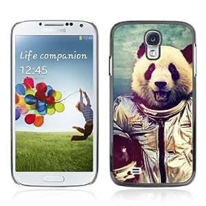 Designer Depo Hard Protection Case for Samsung Galaxy S4 / Astronaut Panda