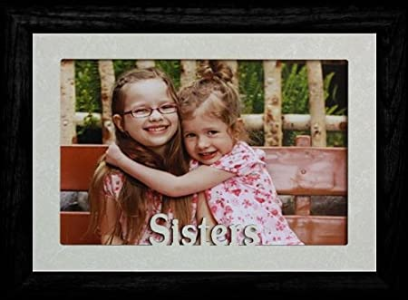 Amazon.com: 5 x 7 ~ Hermanas ~ Jumbo Paisaje Marco de fotos ...