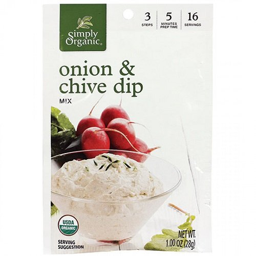 Simply Organic Mix Dip Onion and Chive, 1 oz