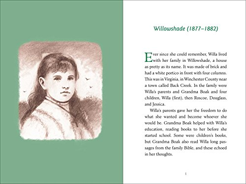 Willa: The Story of Willa Cather, an American Writer (American Women Writers) by Simon Schuster Paula Wiseman Books (Image #1)