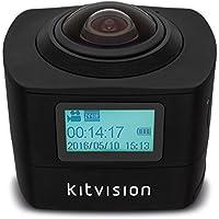 Kitvision KVIM220 Immerse 360 Action camera , Black
