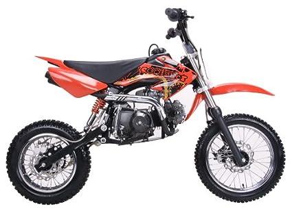 amazon com red coolster dirt bike semi auto 125cc engine db214s rh amazon com Zongshen 110 Zongshen Parts Store