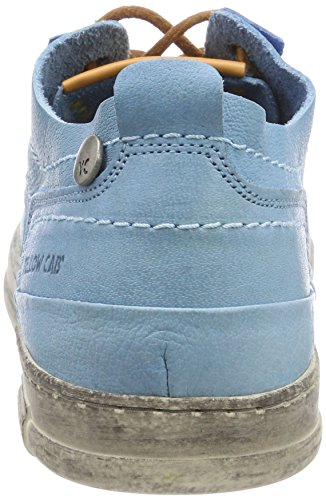 Yellow Cab Seal M, Scarpe Stringate Derby Uomo Blau (Blue)