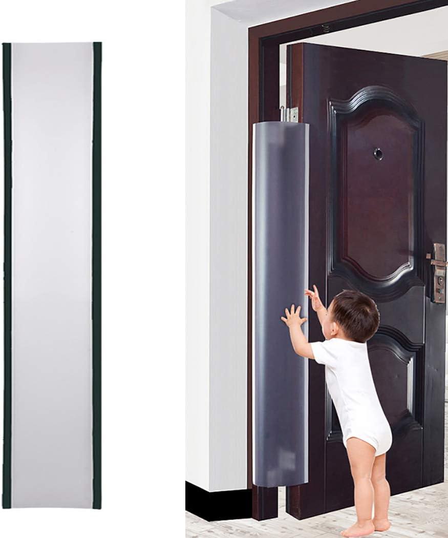 JUSTDOLIFE Door Hinge Guard Self Adhesive Baby Proofing Door Safety Guard