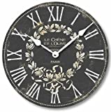 Cheap Item C2041 Vintage Style French Bistro Clock (12 Inch Diameter)