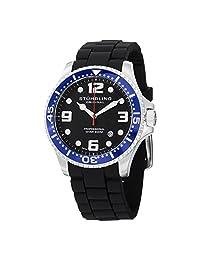 Stuhrling Original Men's Rubber Strap Divers Watch GP14976