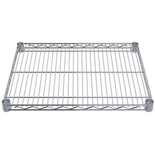Akro-Mils AWS1824SHELF 18-Inch X 24-Inch NSF Approved Industrial Grade Chrome Wire Shelf, 4-Pack by Akro-Mils