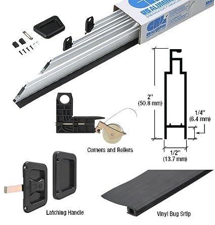 Genial White 36u0026quot; X 81u0026quot; Heavy Duty Extruded K.D. Sliding Screen Door ...