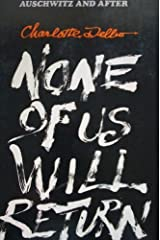 None of Us Will Return (English and French Edition) Paperback