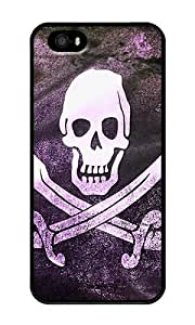 Pirate - Personalized Crystal Clear Enamel Hard Back Shell Case Cover Skin for iPhone 4/4S