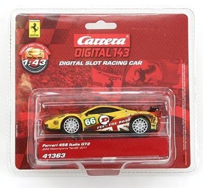 Carrera Digital 143 Ferrari 458 Gt2 Italia Jmw Motorsports No 66 2011 from Carrera
