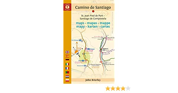 Amazon.com: Camino de Santiago Maps: St. Jean Pied de Port - Santiago de Compostela (Camino Guides) eBook: John Brierley: Kindle Store
