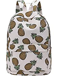 SIPEI Backpack for School Teenagers Girls Boys Bags Pineapple Printing Travel Mochila