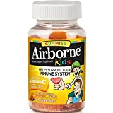 Airborne Kids Assorted Fruit Flavored Gummies, 21 count - 667mg of Vitamin C and Minerals & Herbs Immune Support