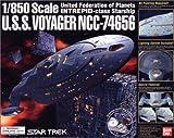 Star Trek U.S.S.voyager Ncc-74656 1/850 Bandai by Bandai
