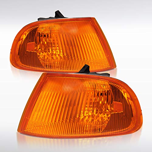 (Autozensation For Honda Civic 4d/4dr Amber Turn Signal Corner Lights)
