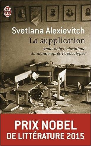 """Résultat de recherche d'images pour """"la supplication svetlana alexievitch"""""""