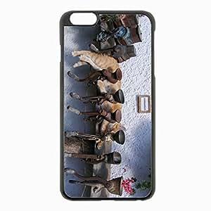 iPhone 6 Plus Black Hardshell Case 5.5inch - grinder metal Desin Images Protector Back Cover