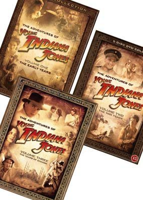The Adventures of Young Indiana Jones - Complete Collection (22 Films) - 17-DVD Box Set ( The Young Indiana Jones Chronicles (The Early Years / The War [ NON-USA FORMAT, PAL, Reg.0 Import - Denmark ] by